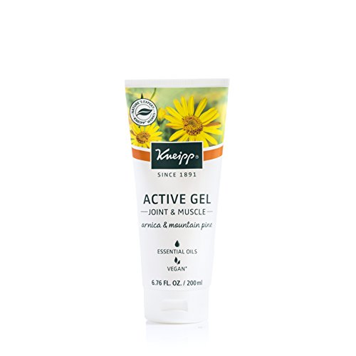 Arnica and Mountain Pine Active Gel by Kneipp, For Joint and Muscle Comfort, 6.76 fl. Oz.