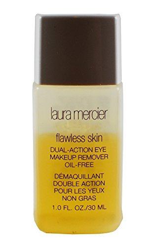 Remover Action Dual Makeup (Laura Mercier Flawless Skin Dual Action Eye Makeup Remover Oil Free 1.0 FL Oz/30 ML - Travel Size)