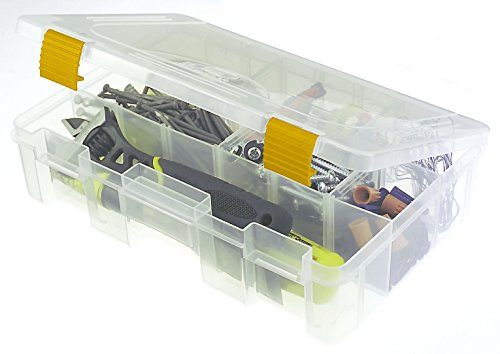 (Plano 2363001 Prolatch Stowaway Deep Box with Adjustable Compartments)