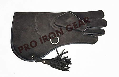 PRO IRON GEAR Falconry Nubuck Leather Glove Size L 13 INCH