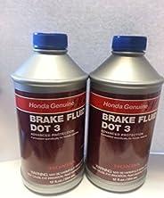 Ponto de freio fluido Honda e Acura genuíno 3 (pacote com 2)
