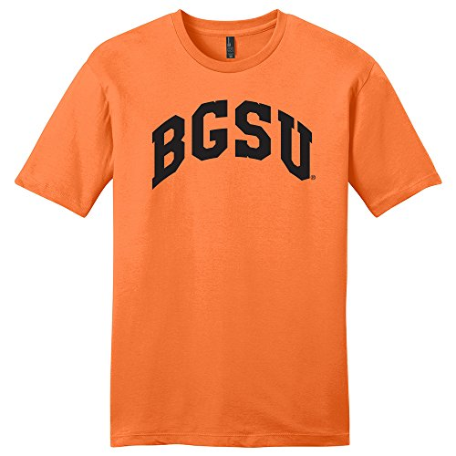 CAA Bowling Green Falcons Arch Soft Style T-Shirt, Medium, Orange ()