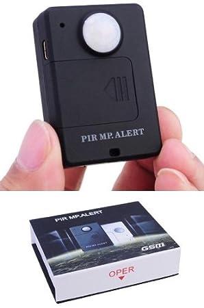 MICROSPIA MEDIOAMBIENTAL GSM PIR A9 ALARMA DETECTOR DE MOVIMIENTO ANTI INTRUSIÓN: Amazon.es: Electrónica