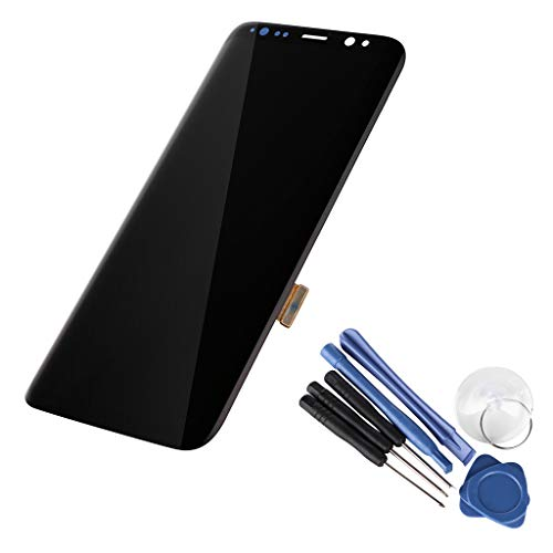 certainPL LCD Display Digitizer for Samsung Galaxy S8 Touch Screen Assembly (Black) by certainPL (Image #1)