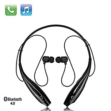 Buy Amextrian Bluetooth Wireless Headphones Sport Stereo Headsets Hands Free With Microphone And Neckband For Android And Apple Devices Multi Colored Online At Low Prices In India Amazon In
