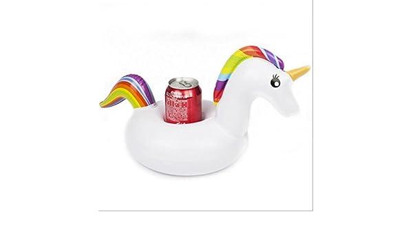 Unicorn flotador puerta piscina hinchable Cup, los barcos flottent ...