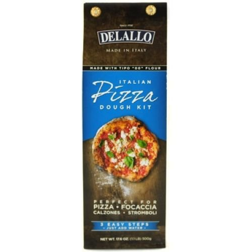 Delallo Pizza Dough Kit, 17.6 Ounce -- 10 per case.