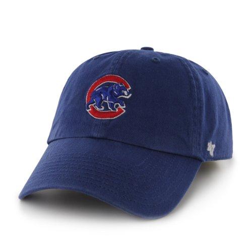 MLB Chicago Cubs '47 Clean Up Adjustable Hat, Royal - (Licensed Ncaa College Cap Hat)