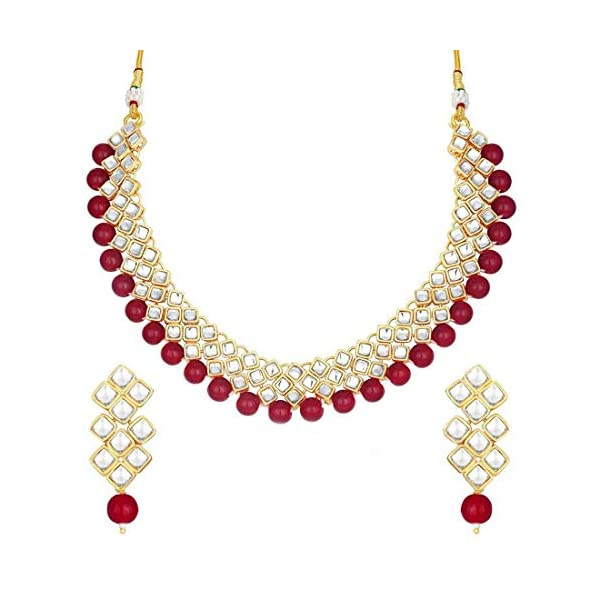 Aheli Stylish Bollywood Wedding Party Wear Necklace Earring Set Indian Ethnic Traditional...