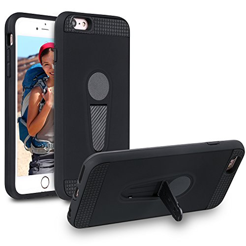 iPhone 6s Plus Case, iPhone 6 Plus Case, Xawy Slim Fit Shell Hard Plastic Soft Feeling Full Protective Anti-Scratch Cover Case for Apple iPhone 6s Plus/6 Plus (Ring Products American)