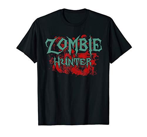 Halloween Shirt Cute Deadly Deer Zombie Hunter Gift]()