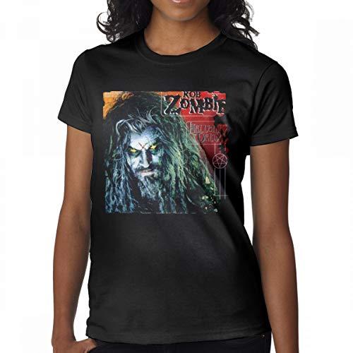 Avis N Women's Rob Zombie T-Shirts Black M -