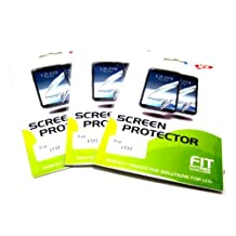 3 Individually Retail Packed High Quality, Ultra Clear Screen Protectors & Cleaning Cloths for AT&T Samsung Galaxy S2 Skyrocket (SGH-i727)