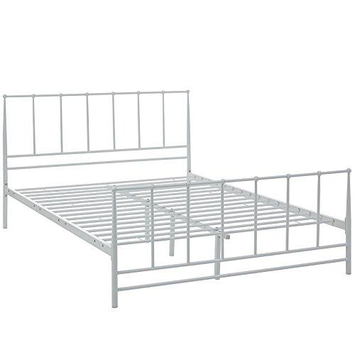 Modway Estate Bed, Full, White