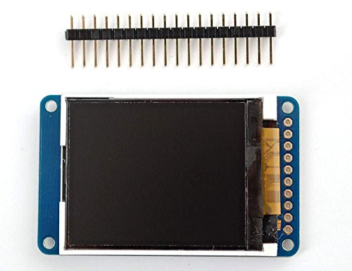 1.8 18-bit Color TFT LCD Display with microSD Card Breakout - ST7735R from Adafruit