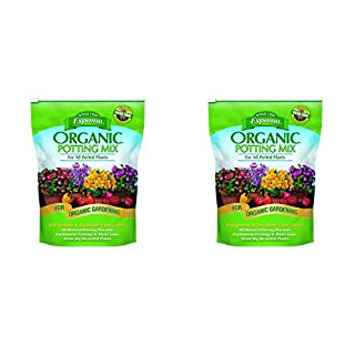 Espoma AP8 8-Quart Organic Potting Mix - 2 Pack