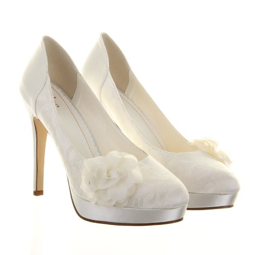 Elsa Col Avorio Tacco Avorio Coloured Donna Shoes 41 Scarpe rtY6xrnCwq