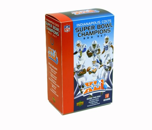 (Upper Deck Indianapolis Colts Super Bowl XLI Commemorative Box Set)