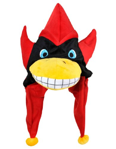 [NCAA Iowa State Cyclones Thematic Mascot Dangle Hat] (Cyclone Mascot Costumes)