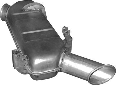 pour P, R, T 11.7 12.7 15.6 16.4 8.9 9.3 Rigid//Truck Tractor 380//340//360//500//730//230hp 2004- ETS-EXHAUST 8512 Silencioso Trasero