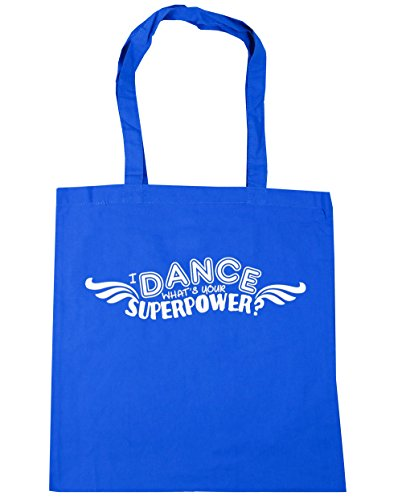 Tote 42cm x38cm Superpower What's Shopping litres Gym Dance I 10 Cornflower Bag Blue HippoWarehouse Your Beach xgTX4qa