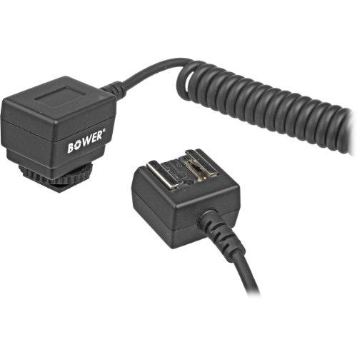 Bower SFD52N Dual Intelligent Digital Speedlight for Nikon D2X, 200, 3X, 40X, 50, 60, 70, 80, 90, 5000, 5100, 700, 7000 Digital SLR Cameras - Black