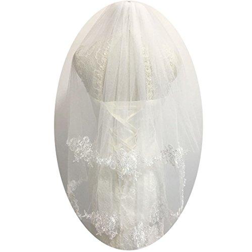 Elbow Bridal Wedding Veil - 5