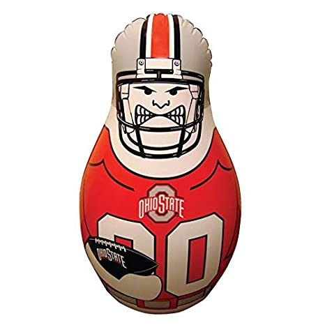 Fremont Die NCAA Tackle Buddy Inflatable Punching Bag 40-Inch Tall
