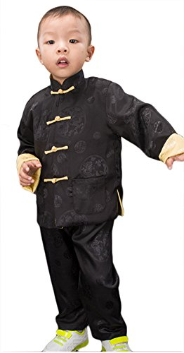 AvaCostume Boys Chinese Traditional Sleeve