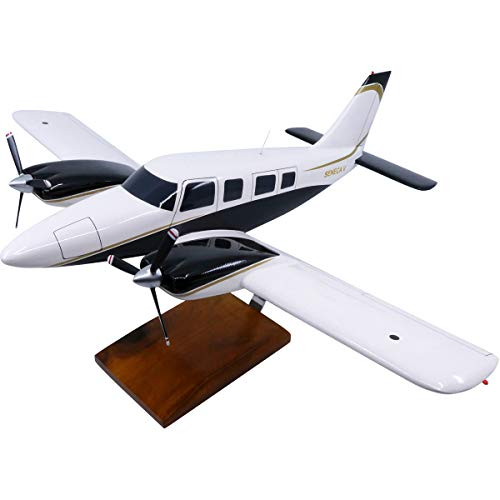 Piper PA-34 Seneca Large Mahogany Model for sale  Delivered anywhere in USA