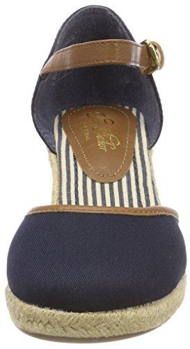 TOM TAILOR 4890903, Sandalia con Pulsera Para Mujer azul (navy)