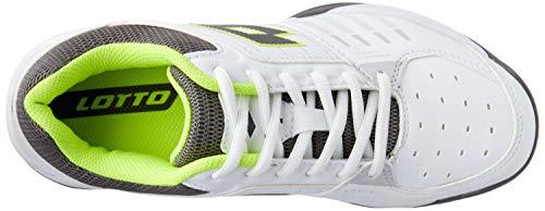 X Tour Tennis Homme Lotto wht 010 Chaussures De T Blanc Saf ylw 600 c54Ft4