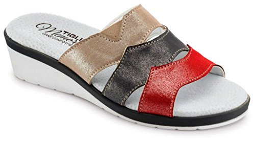 Rouge Femme TIGLIO Rouge EU Chaussons pour 36 787w6na