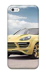 New Tpu Hard Case Premium Iphone 5/5s Skin Case Cover(2012 Topcar Porsche Cayenne Vantage 2 Lemon Side Angle Cars Porsche)