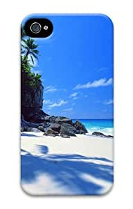 cliff island PC Case for iphone 4S/4