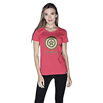 Creo T-Shirt For Women - L, Pink