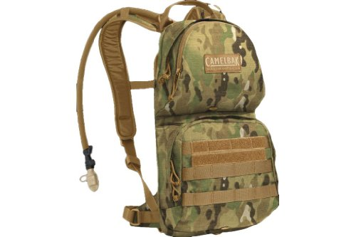 CamelBak M.U.L.E. MilTac 100oz 3 Liter Hydration Backpack Hydration Plus Cargo Multicam 61764