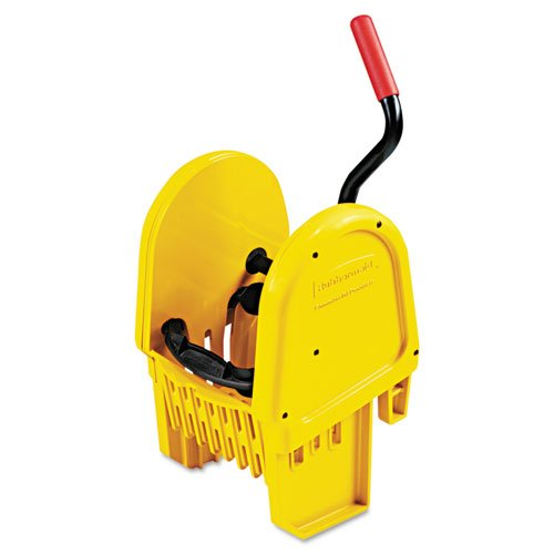 Rubbermaid Commercial 757588YEL WaveBrake Down-Press Wringer, Yellow by Rubbermaid Commercial