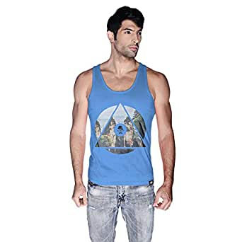 Creo China Mountain Tank Top For Men - Xl, Blue