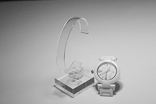 2pack of Acrylic Bracelet Watch Display Stand Holder