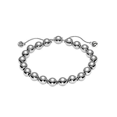 Gucci Unisex Boule Britt Bracelet Silver - Mens Gucci Top