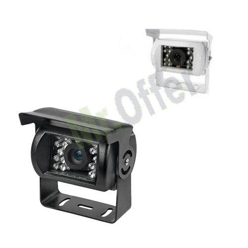 Telecamera retromarcia notturna per auto con staffa, una retrocamera con 18 led per facilitare le manovre di parcheggio anche in assenza di luce, telecamere per tutti i tipi di camion e suv, comoda microcamera anche per la videosorveglianza di piccoli ambi