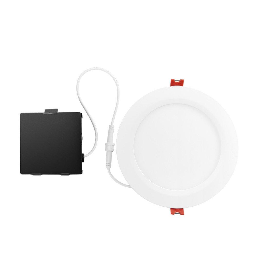 Globe Electric 91255 Recessed Lighting, 6'', White