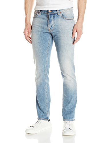 Nudie Jeans Men's Grim Tim, Salty Summer, 32 x 32 by Nudie Jeans