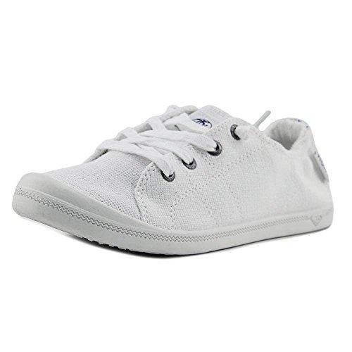 Roxy Womens Bayshore Sneaker, White, M