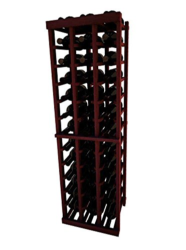 Series 3 Vintner - Vintner Series Wine Rack - 3 Column - 4 Ft - Premium Redwood Classic Mahogany Stain