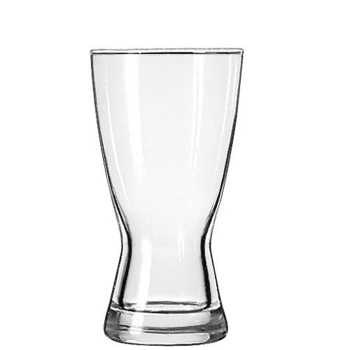 Libbey Glassware 181 Hourglass Pilsner, 12 oz. (Pack of 24)