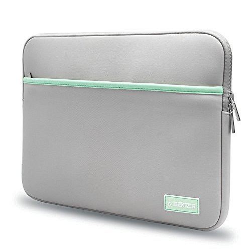 ibenzer-neoprene-case-with-accessory-pocket-for-133-inch-laptop-gray