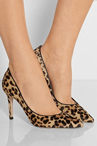 Tacchi Shoes Alti Elashe Court Women Centimetri Elegante Stiletto Toe Punta Elegante 8 High Leopard Pointed Pumps Elashe 8cm Stiletto Heels Pompe Punta Scarpette Donne A Leopardo xrYH0qrw