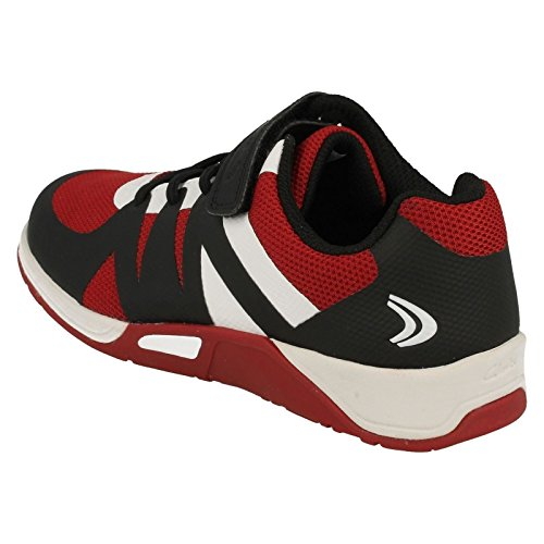 Clarks  Trace Step Jnr, Jungen Traillaufschuhe rot rot